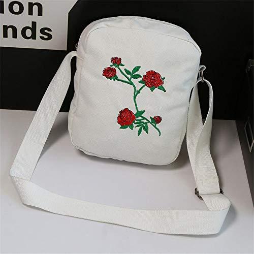 Las Vhvcx B Del Mujeres Visor 3 Moda Viaje School Determina Mochila Rose Bolso Bordado De Muchachas Bolsa FFRqzAwScx