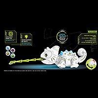 Juguete electr/ónico Inteligente para Robot de Juguete Creativo RC Camale/ón Animal Juguete Ni/ños Regalo EisEyen