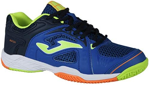 Joma Zapatillas Padel niño Match 804 Royal - 34: Amazon.es ...