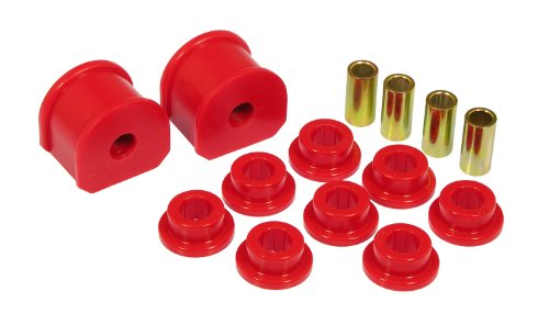 Prothane 6-1114 Red 16 mm Rear Sway Bar Bushing Kit