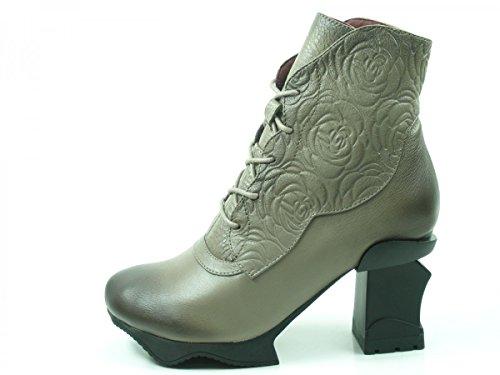 Laura Vita Womens Armour 101 Boots Grigio