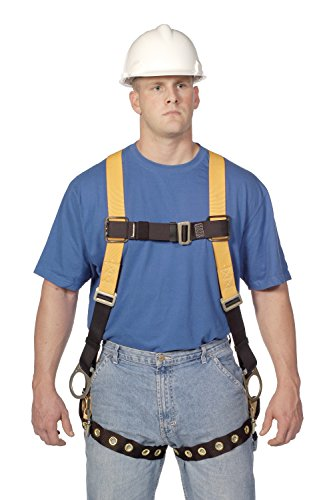(Miller Titan by Honeywell TF4507/UAK Polyester T-Flex Stretchable Harness, Universal)