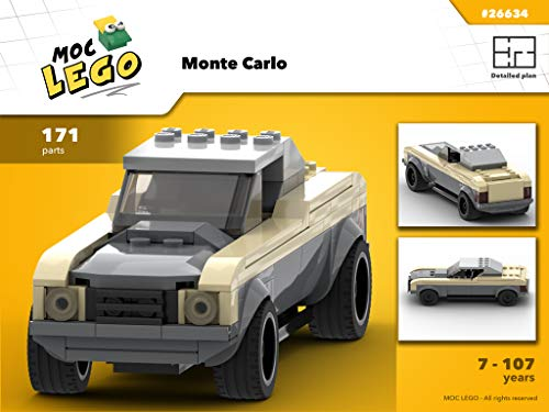 Monte Carlo (Instruction Only): MOC LEGO por Bryan Paquette
