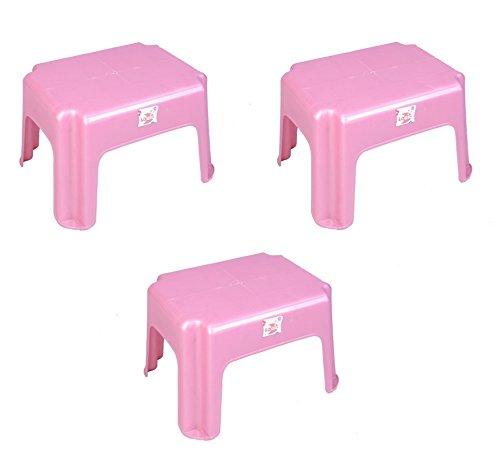 Logic Simba Stool, Set of 3 (Pink)