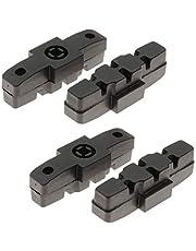 Kartell ® Remblokken voor Magura, 2 paar (4 stuks) voor aluminium velgen, zwart