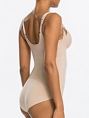 OnCore Firm Control Open-Bust Bodysuit