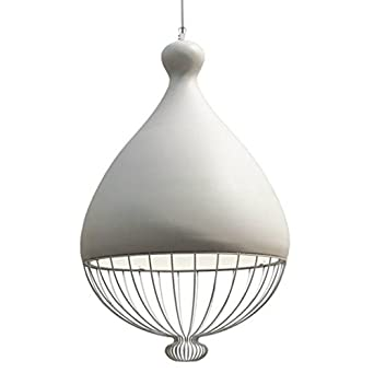 Modern Design Weiß Runden Pendelleuchten Malen Metall Hohl Schatten E27 40w  Deckenspot Hängen Kronleuchter Für Wohnzimmer