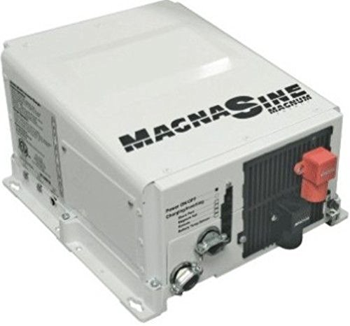 Magnum Energy MS1512E MS-E Series 1500W 12VDC 230VAC Pure Sine Inverter Charger, Standard transfer relay, Low/high battery protection, Fan cooled, Current overload protection, Convenient switches ()