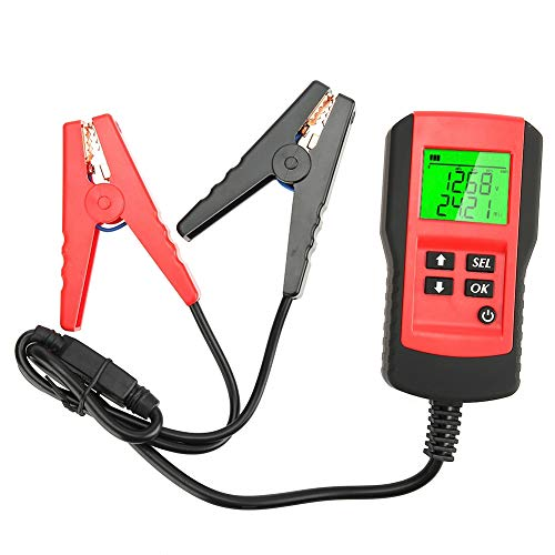 Fydun Car Digital Battery Tester 12V Automotive Display Digital Battery Tester Car Battery Tester Car Battery Load Test Analyzer: