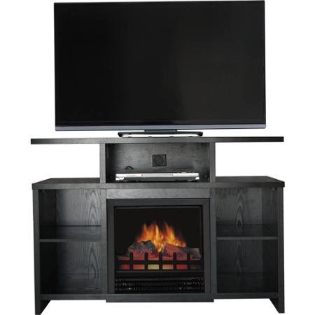 42 in tv stand fireplace - 4