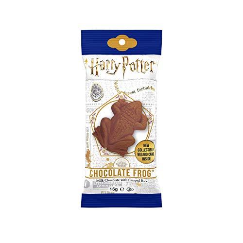 قورباغه شکلاتی هری پاتر با کارت ویزیت ویزارد (0.55oz) x1