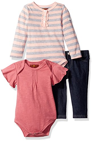 7-for-all-mankind-baby-girls-3-piece-bodysuit-and-jean-set-silver-pink-3-6m