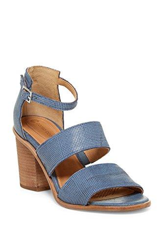 Corso Como Femmes Sus Cuir Bout Ouvert Sandales À Lanières Décontractées  Denim / Denim. chaussures; cuir; Semelle ...