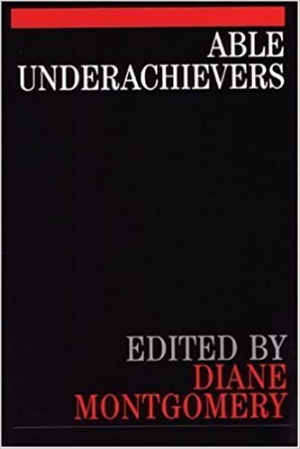 Book Able Underachievers by Montgomery, Diane (2000)