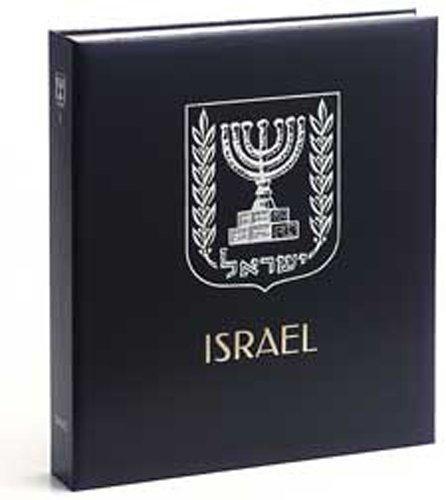DAVO 5932 Luxe stamp album Israel II 1965-1974 by DAVO