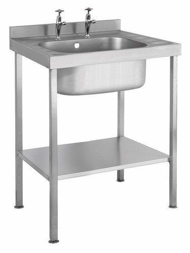 Buy Arya Kitchen Stainless Steel Steel Single Sink Table Online At Low Prices In India Amazon In
