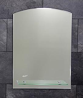 Hervorragend Badspiegel mit Ablage und Beleuchtung 700 x 500 cm - Lampe Nr. 1  TF13