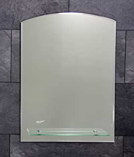 Badspiegel mit Ablage und Beleuchtung 700 x 500 cm - Lampe Nr. 1 ... | {Spiegel mit beleuchtung und ablage 35}