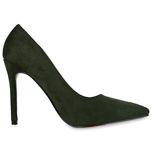napoli-fashion - Cerrado Mujer verde oscuro