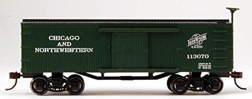 Bachmann Industries CNW Old-Time Box Car 在庫限り Train 並行輸入品 Scale HO [宅送]