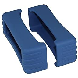 82 Series Rubber Boot Size 8 - Blue (Pair) - 1.5 Inch X 5.25 Inch X 2 Inch