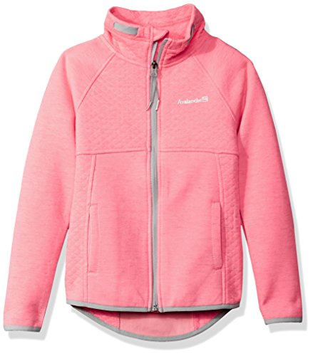 Little Girls Coat (Avalanche Little Girls' Full Zip Jacket, Neon Coral, 5/6)