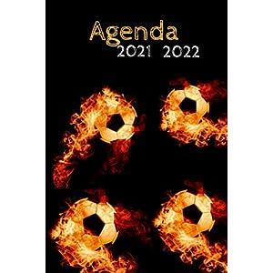 Agenda 2021 2022: Agenda journalier scolaire foot 2021 2022: Agenda foot 2021 2022| Agenda pour fille garcon primaire… 4
