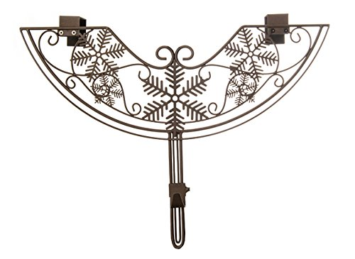 VILLAGE LIGHTING COMPANY Village Lighting Snowflake Adjustable Wreath Hanger by VILLAGE LIGHTING COMPANY