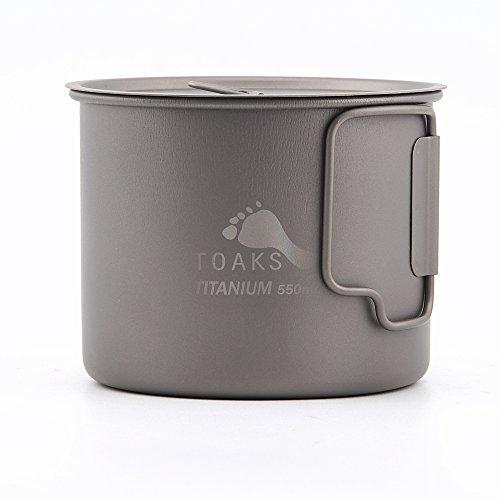 TOAKS Titanium 550ml Pot (New Version) ()