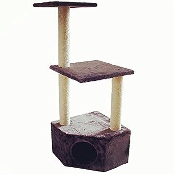 Rascador para gato, de Toaks, 85 x 60 x 30/110 x 41 x 41 cm,