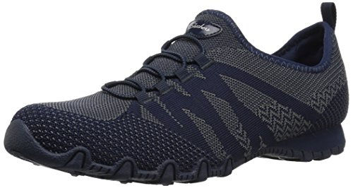 Navy Skechers Sneaker Bikers Women's Knit Happens xTwX1qB