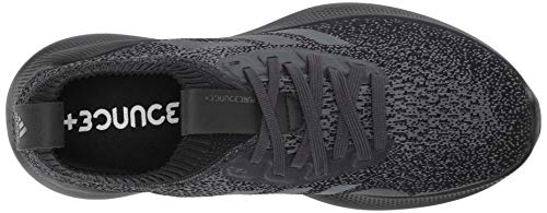 adidas Men's PureBounce+ Running Shoe, Carbon/Core Black/Core Black, 8 M US