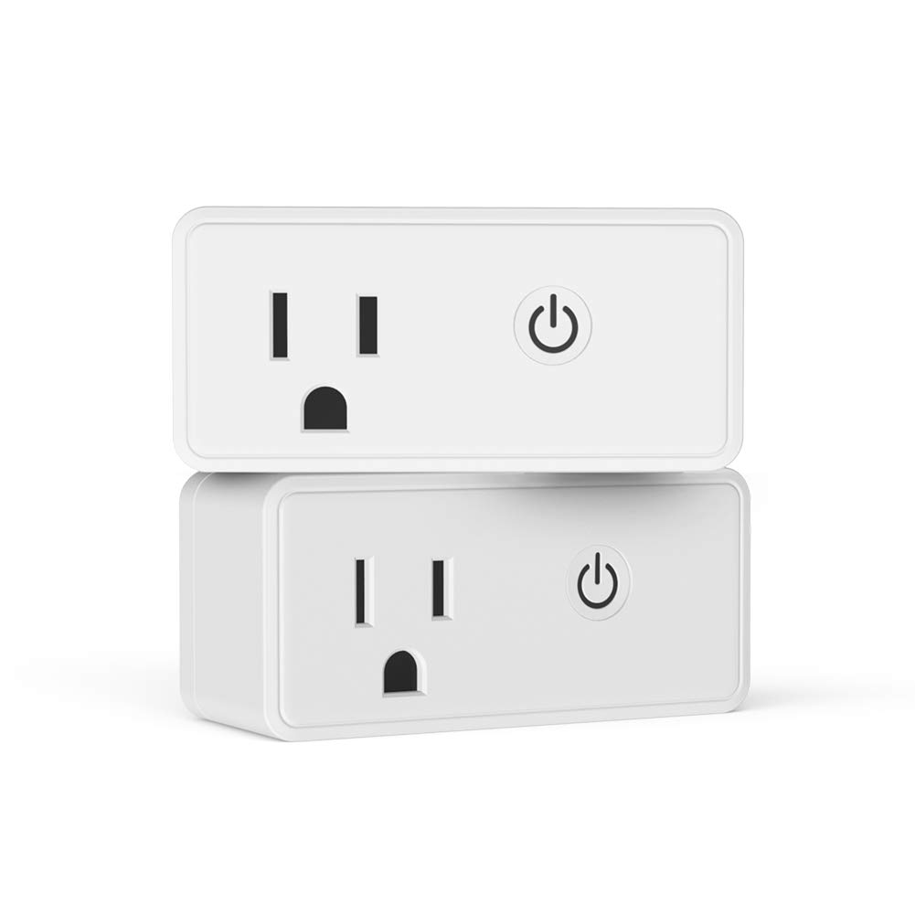 amazon.com - WOLF ARMOR Wi-Fi Smart Plug, Suitable for Amazon Alexa, Google Home, No Hub Required, Remote Control of Your Home Appliances, Schedule and Timer, ETL Certification(2 Pack) $12.99