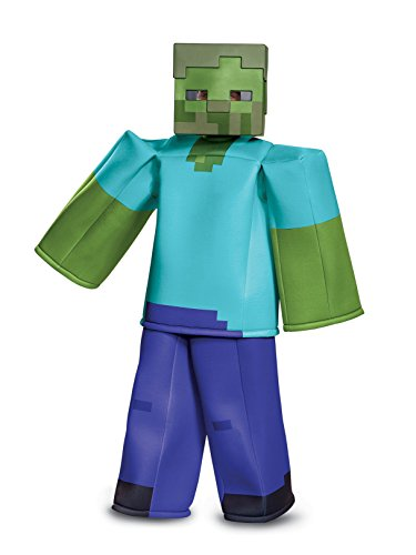 Disguise Zombie Prestige Child Costume, Green, Medium/(7-8) -