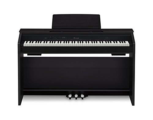 Casio PX850 BK 88-Key Touch Sensitive Privia Digital Piano with 4 Layer Stereo Grand Piano Samples (OLD MODEL) by Casio