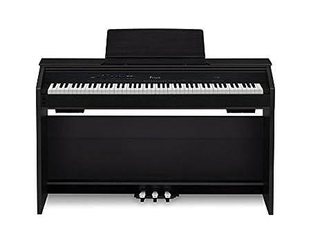 Casio PX850 BK 88-Key Touch Sensitive Privia Digital Piano with 4 Layer Stereo Grand Piano Samples Casio Inc.