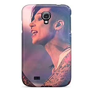 Shock Absorption Hard Cell-phone Case For Samsung Galaxy S4 With Support Your Personal Customized High Resolution Black Veil Brides Band BVB Series Case88zeng