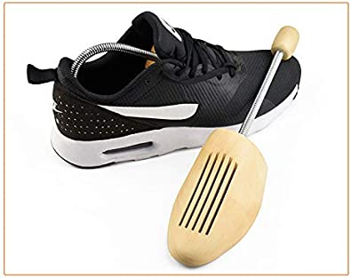 Shoe Stretcher Sprung Wooden Shoe Trees For Men//Women 4 Sizes Loosens Tight Shoes with Strong Durable Wood Shoe Shapers