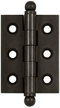 LIUFENGLONG Door Hinges Color : Brass, Size : 10 Packs Efficiently and Securely 10 Pieces Stainless Steel Butt Hinges Ball Bearing Hinges Door Hardware Home Furniture Door Fittings Brass Smoothly