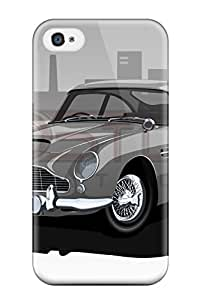 Durable Protector Case Cover With Aston Martin Db5 19 Hot Design For Iphone 4/4s