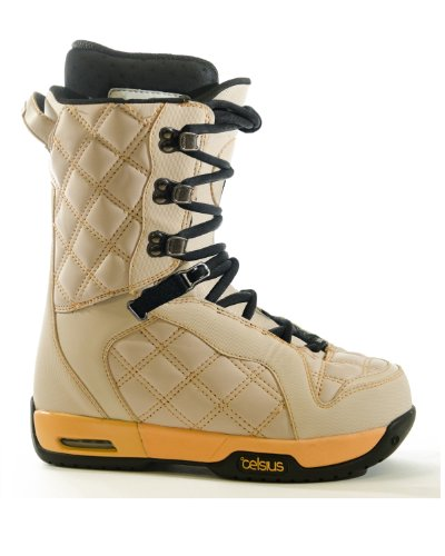 Celsius Women's Cosmo Trad Lace Snowboard Boots Beige NsPQ5WW
