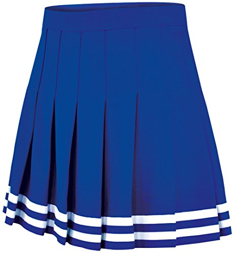 Double-Knit Knife-Pleat Cheerleading Skirt - Cheer Uniform Skirt