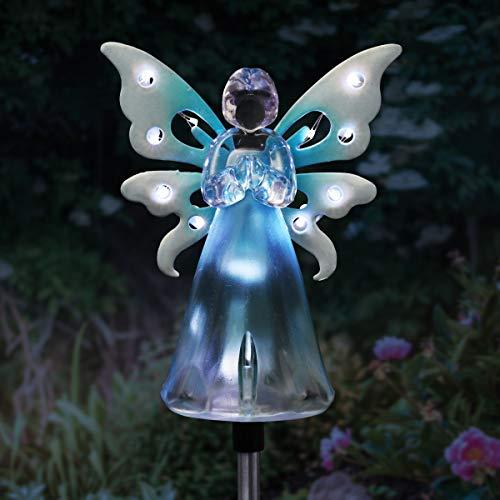 Solar Light Angel Statue in US - 6