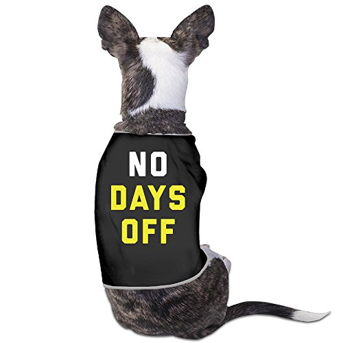 no-days-off-dog-clothes-shirt