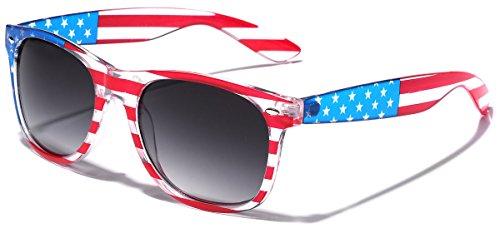 American Flag Classic Horn Rimmed Patriotic - American Flag Sunglasses Cheap