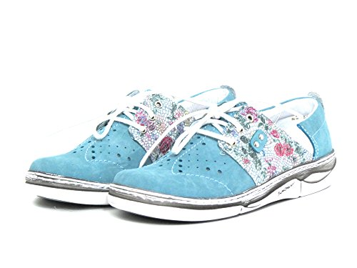 2 kombi blue blau Shoes Kacper kombi Lace blau Women 6434 Up BLAU 0R7AH
