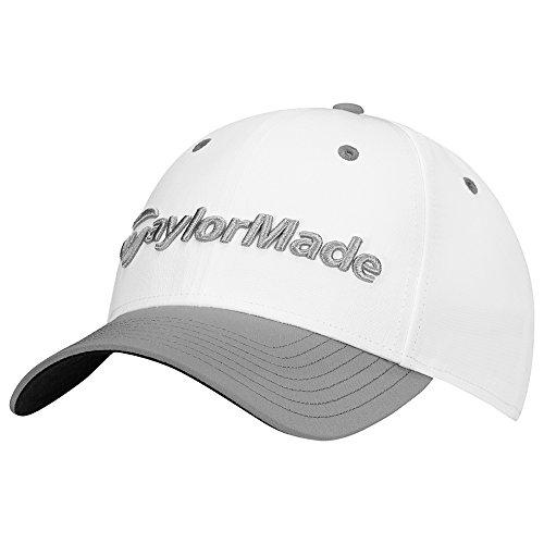 TaylorMade Golf 2017 performance seeker hat white/grey