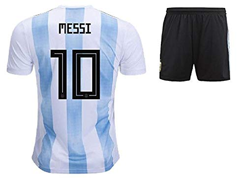 1fad1de8d Shoes Shoes Argentina Jersey and Shorts 2018 World Cup with Messi Printed  kit White Blue