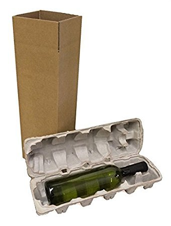 Wine Shipping Box, Single (Shipping Wine)