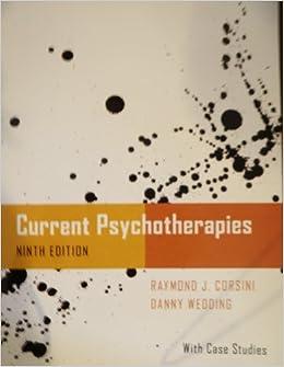 current psychotherapies corsini